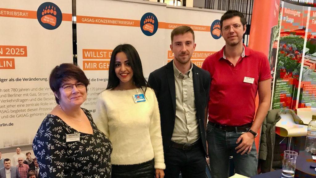 Der Konzerbetriebsrat bei der Landesdelegiertenkonferenz der SPD